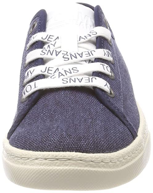 Textile Jeans LowZapatillas Para Mujer Tommy Light 6gmybvYfI7
