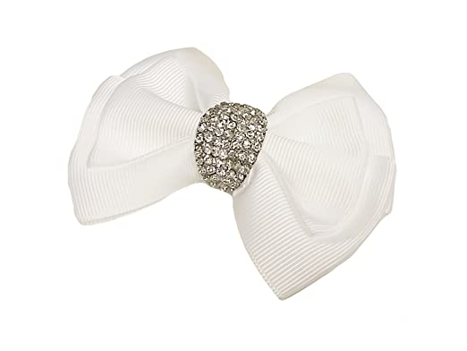 40a4fed4cf0 La Loria Accessoires Femme Clips pour chaussures  quot Pretty quot  boucle  blanc amovible ...