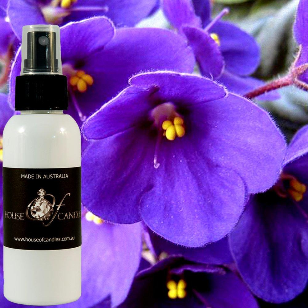 Fresh Violets Perfume Body Spray Deodorant Mist XSTRONG 50ml/1.7oz VEGAN & CRUELTY FREE House Of Candles
