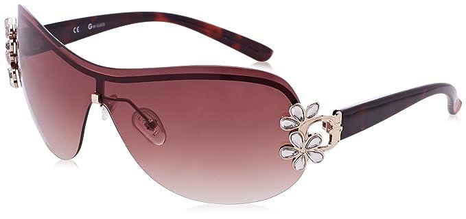 Guess Damen Sonnenbrille GG1111_06B, Schwarz (Nero), 66