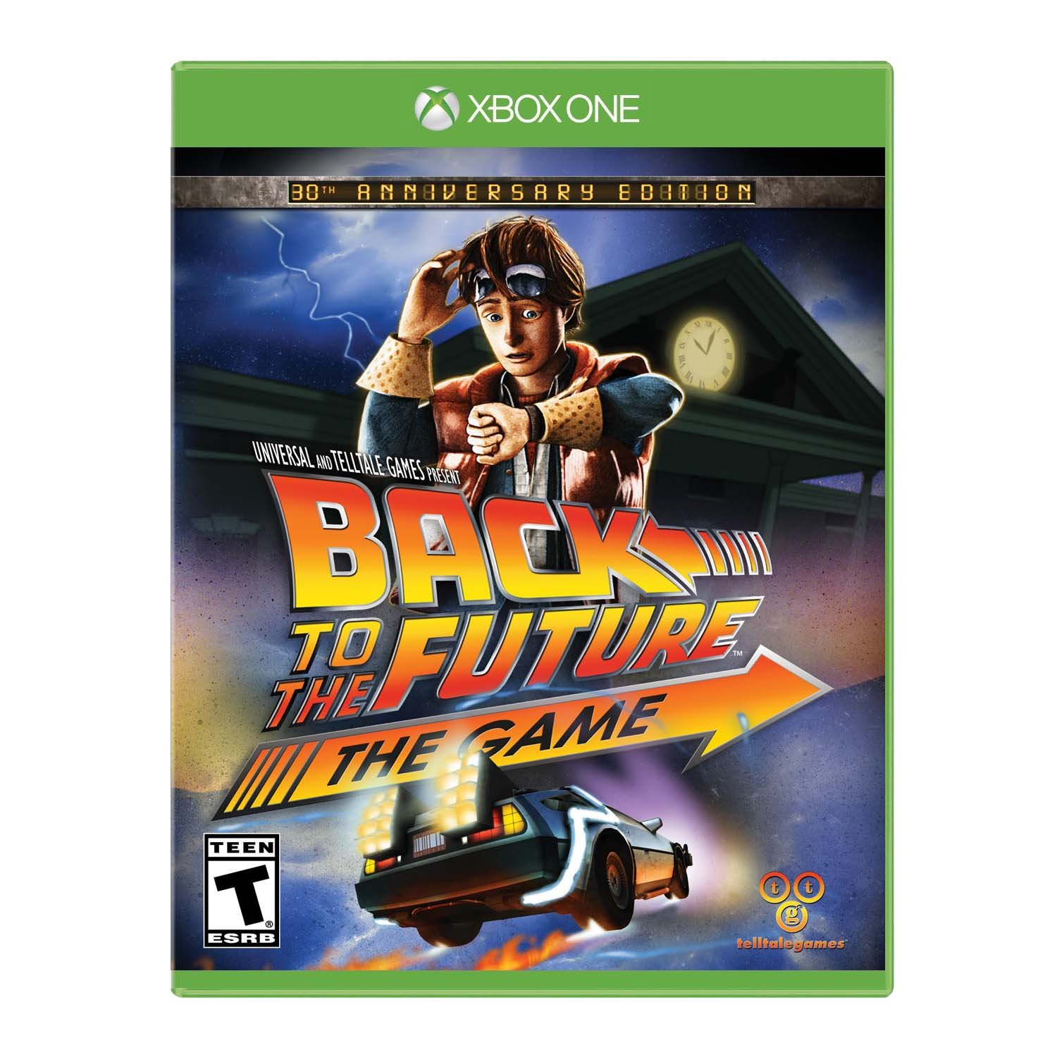 Back To The Future: the Game - 30th Anniversary - Xbox One: Amazon ...