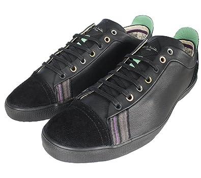 e2ffac176a8f PAUL SMITH - MEN'S - VESTRI BLACK LEATHER TRAINERS: Amazon.co.uk: Shoes &  Bags