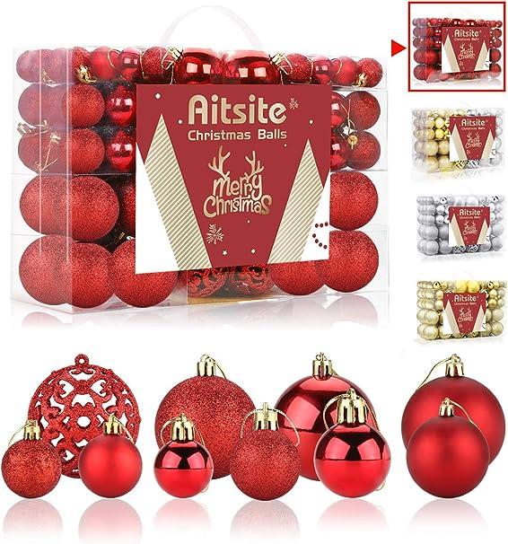 metal toy ornaments set of 18  white Christmas tree ornaments  miniature Santa sleigh decorations