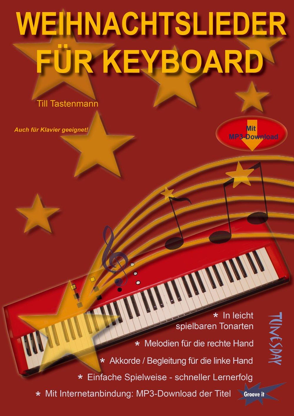 Weihnachtslieder für Keyboard & Klavier - Noten mit MP3-Download ...