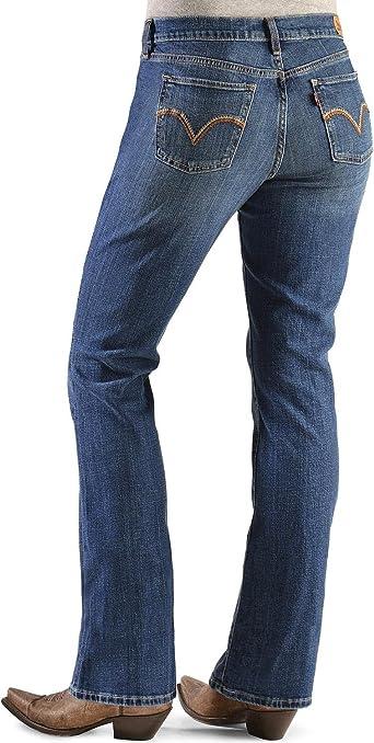 Pantalones Vaqueros Para Mujer De Esra Corte En Bota