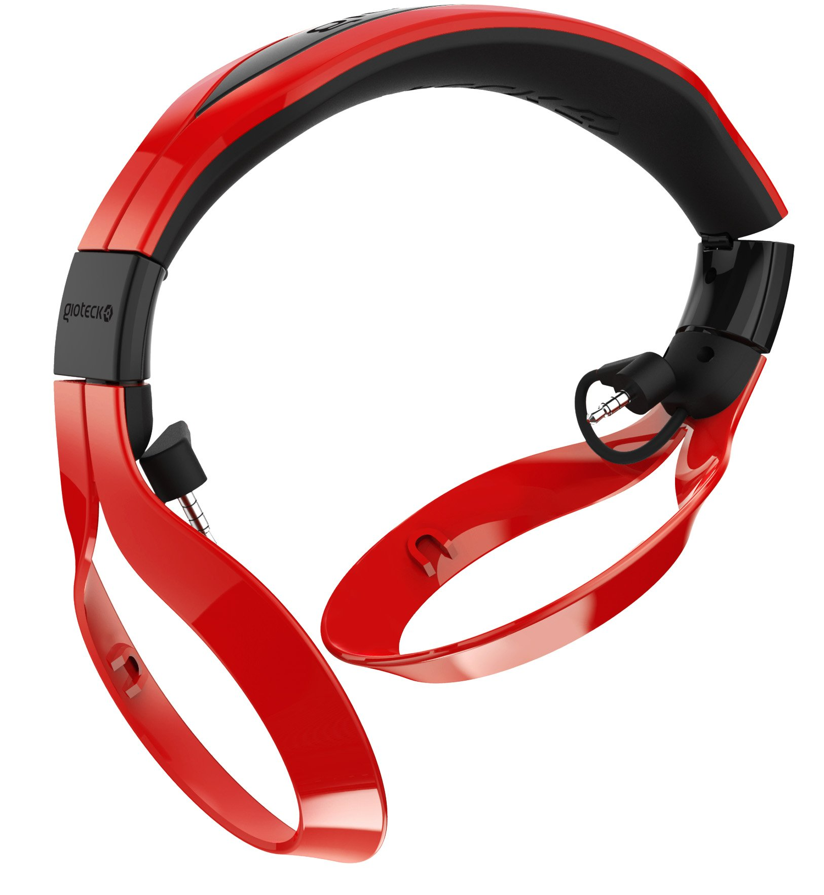 Gioteck FL-300 Wired Stereo Headset with Removable Bluetooth Speakers - PlayStation 4 - Red by Gioteck (Image #4)