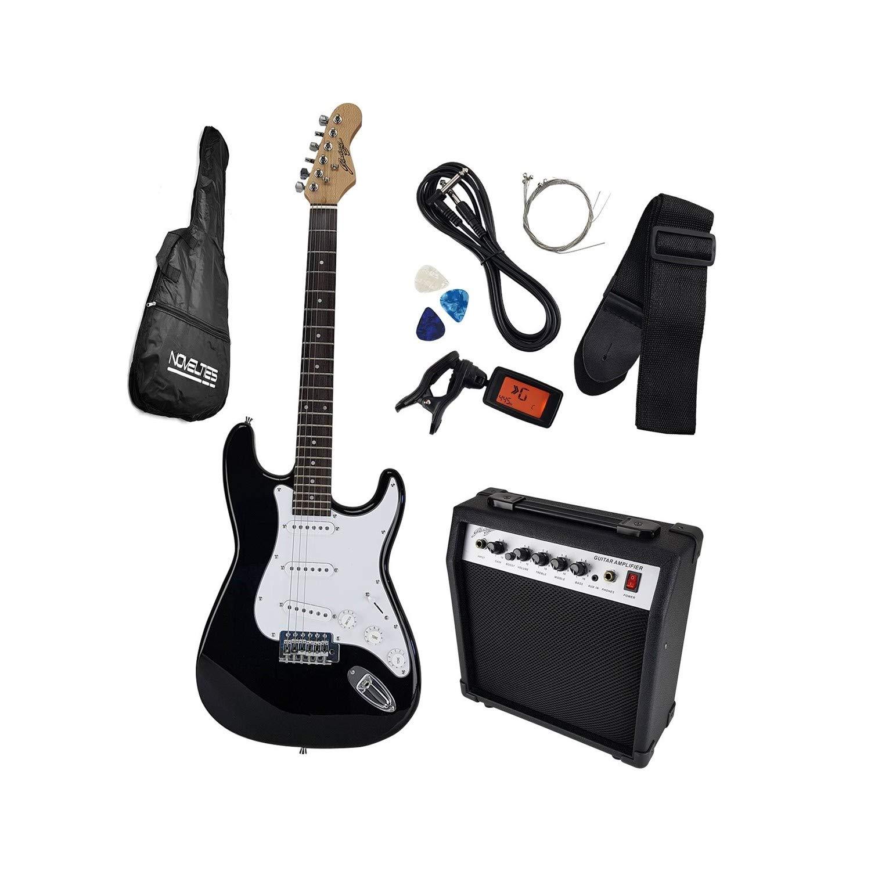 Kit Guitarra Eléctrica + Amplificador 15 W + Acccessoires - negro ...
