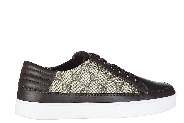 3395dde8e Gucci men's shoes trainers sneakers gg supreme beige UK size 10 411858  A9LN0 2167: Amazon.co.uk: Shoes & Bags