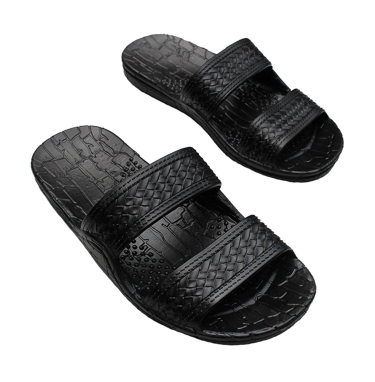 Black jesus sandals - Amazon Com Hawaii Brown And Black Jesus Sandals Small Kid Big Kid Shoes