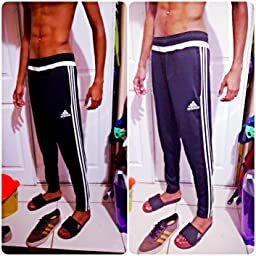 mens pink adidas trainers pants