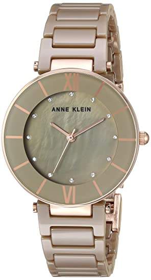 68c91896c3e0 Anne Klein AK 3266KHRG - Reloj de Pulsera para Mujer con Cristales de  Swarovski