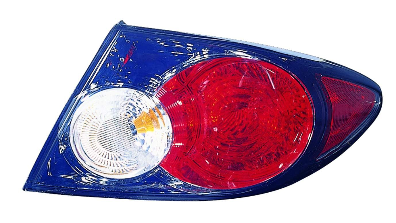 Depo 316-1928L-AS2 Mazda 6 Driver Side Replacement Taillight Assembly 02-00-316-1928R//L-AS2