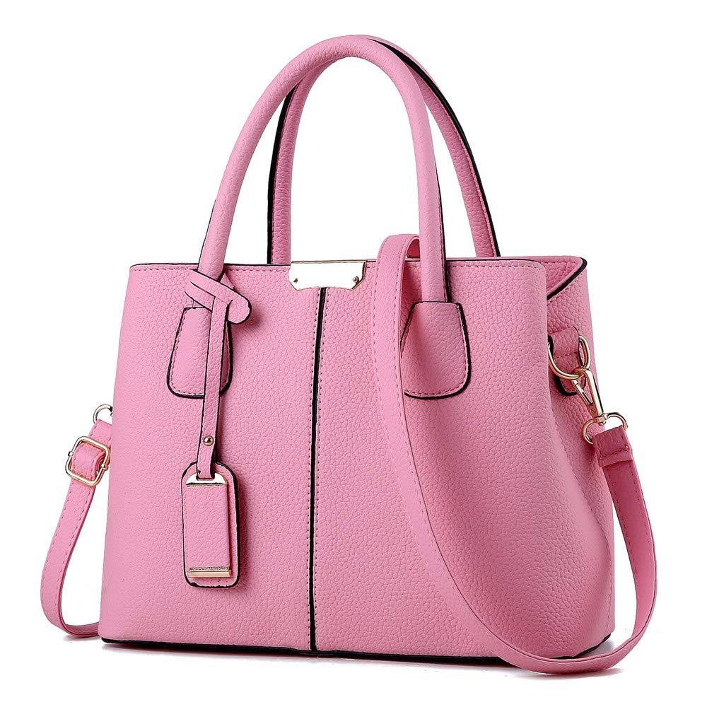 Qiruian Damen Handtaschen Messenger Leder Umhängetasche Schultertasche Crossbody Tasche Tote einfach B07NRMLZ57 Umhngetaschen Gewinnen Sie hoch geschätzt