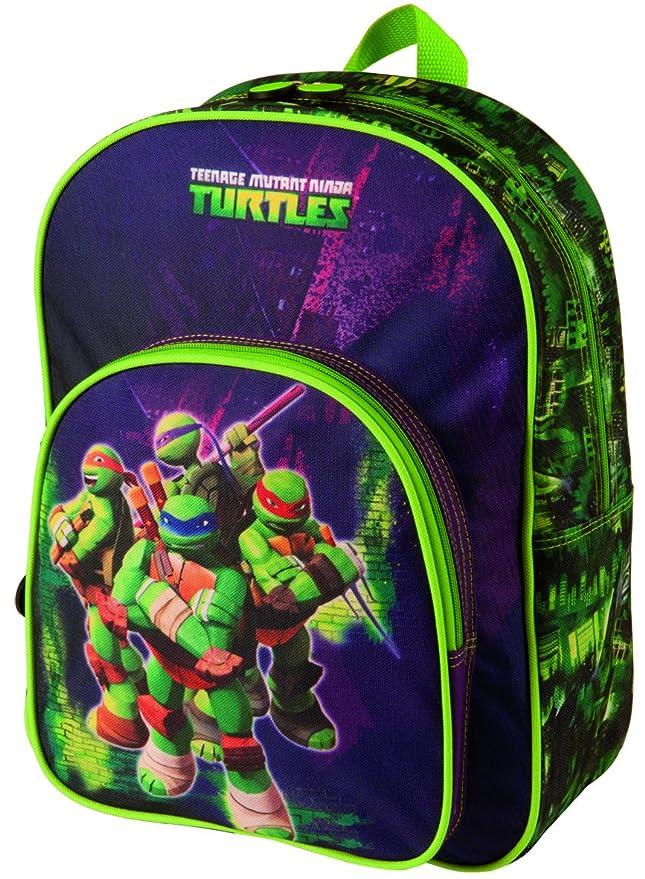 Mochila Tortugas Ninja Power grande: Amazon.es: Juguetes y ...