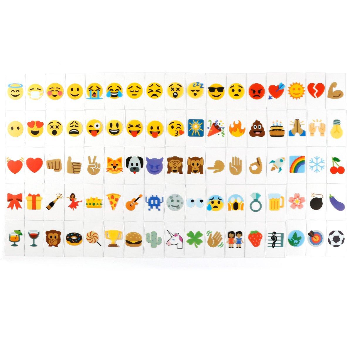 Negras Emotic/ón Emojis CLE DE TOUS 85//90//175pcs Cinema Se/ñales Letras N/úmeros Multicolor para Caja de Luz Cinematogr/áfica A4 85pcs Emojis-Multicolor