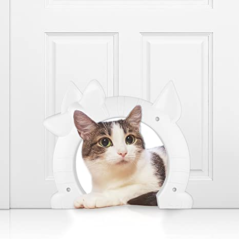 Amazon Homdox Pet Cat Door Flap For Medium Large Cats Entry
