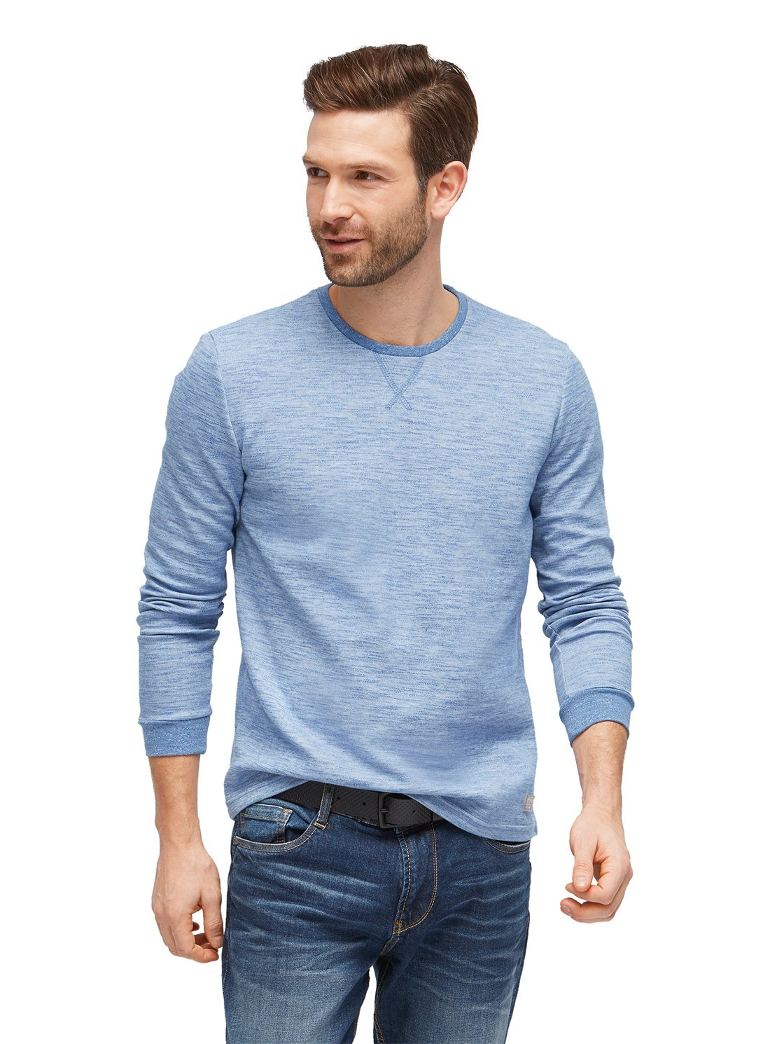 TOM TAILOR Herren Langarmshirt Longsleeve with Stripes: Amazon.de:  Bekleidung