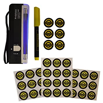 Compact Pro propiedad _ P 1 Pen, Torch, 36 Security Stickers