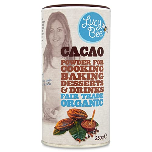 Lucy Bee 83384 Fair Trade Organic Cacao Powder 250 g