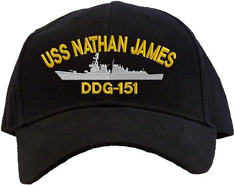 Rosa Personalizado Regalos USS Nathan James ddg-151 Gorra de béisbol bordado: Amazon.es: Ropa y accesorios