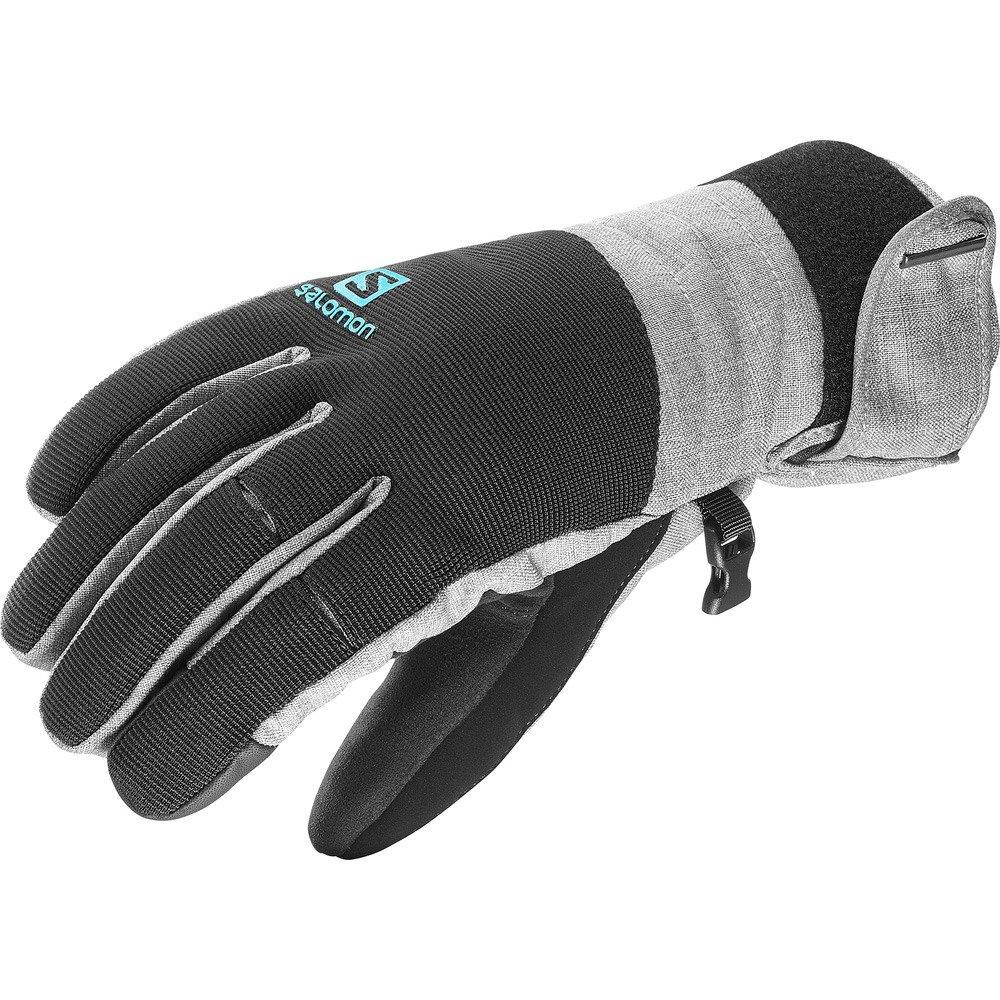 Salomon Gloves Element Dry W - Guantes, Mujer, Gris - (Dove Grey/Black) L39495800