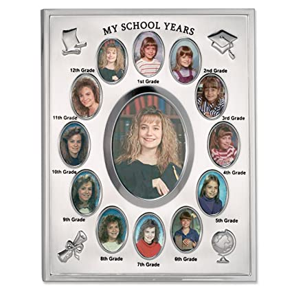 Amazon.com - Lawrence Frames My School Years Silver Plated 8x10 ...