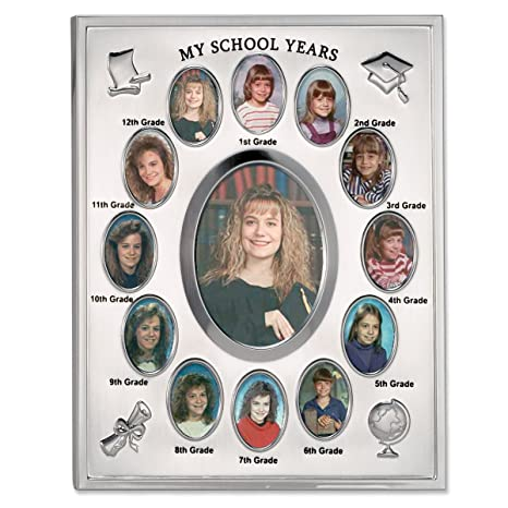 Amazoncom Lawrence Frames My School Years Silver Plated 8x10