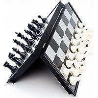 1Set International Chess Game 32195mm palabra juegos de ajedrez magnético Medieval plegable piezas de ajedrez/juego completo entretenimiento