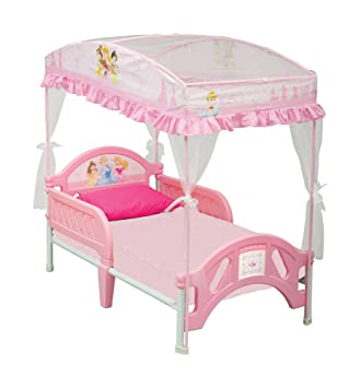 Disney Princess Toddler Bed with Canopy  sc 1 st  Amazon.com & Amazon.com: Disney Princess Toddler Bed with Canopy: Toys u0026 Games