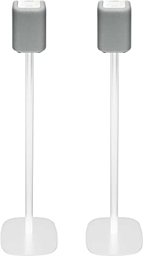 Vebos Floor Stand Yamaha WX-010 Musiccast White Set en Optimal Experience in Every Room – Compatible with Yamaha WX-010 Musiccast