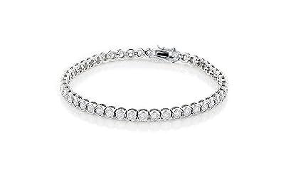 8a11759231b7 Cate   Chloe Joelle 18k Gold CZ Tennis Bracelets for Women