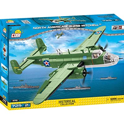 COBI Historical Collection North American B-25 B Mitchell, Multicolor: Toys & Games