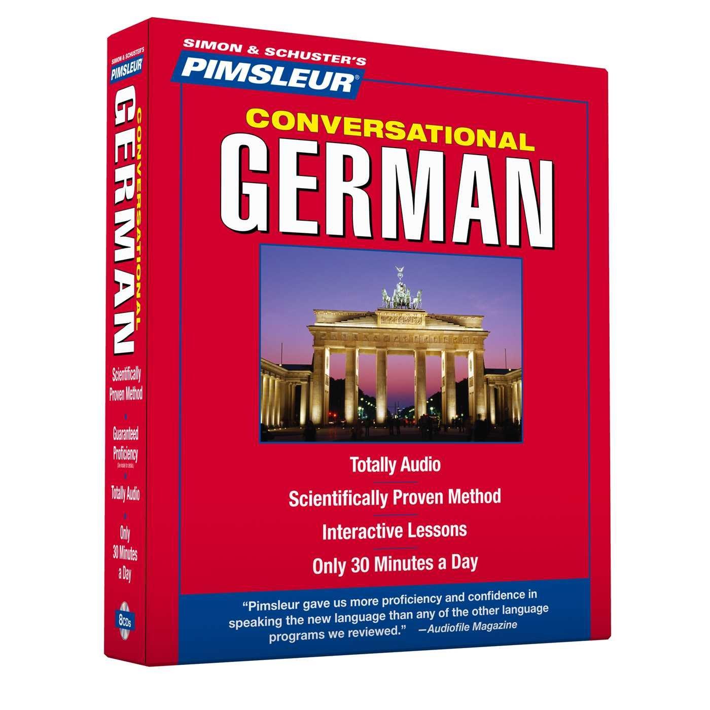 Pimsleur German Conversational Course Level 1 Lessons 1 16 Cd