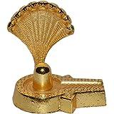 Real Seed Brass Lord Shiva Shivlinga / Shiv ling Idol 6.5 Cm x 5 Cm x 6.5 CM