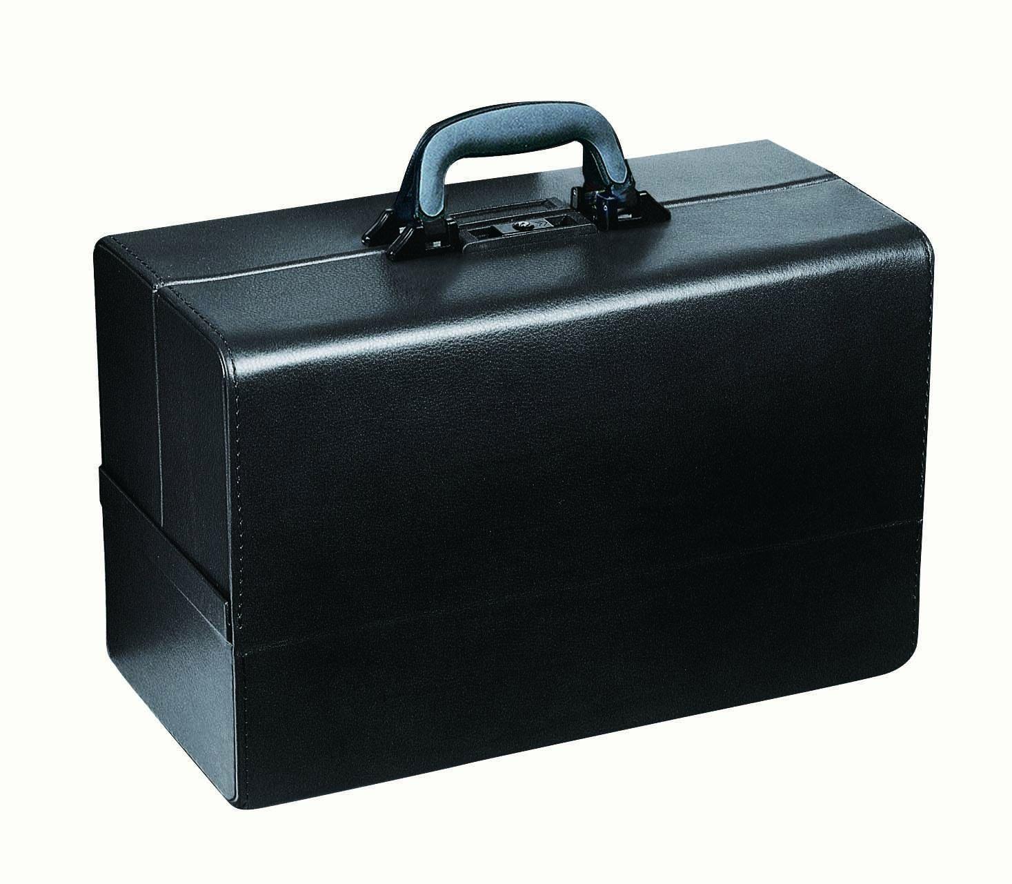 往診鞄 コンチェルティナ 1.06.311(ブラック) 松吉医科器械 23-2283-00   B076CF2BH9