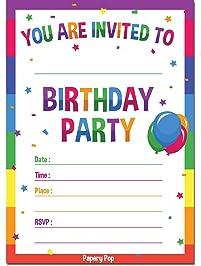 pictures birthday invitations