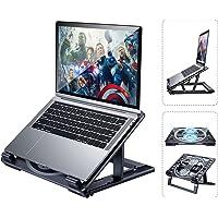 "Laptop Cooling Pad Desktop Cooler Fun Holder for Desk Laptop suit for 10""~17.3"" MacBook Air Pro,Dell XPS,HP Ultra Slim…"