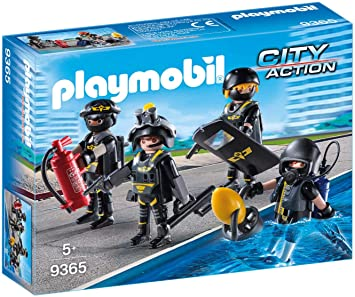 Amazon.com: Playmobil 9365 SWAT Team – nuevo 2018: Toys & Games