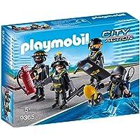 Playmobil City Action Tactical Unit Team, Multi-Colour, 9365