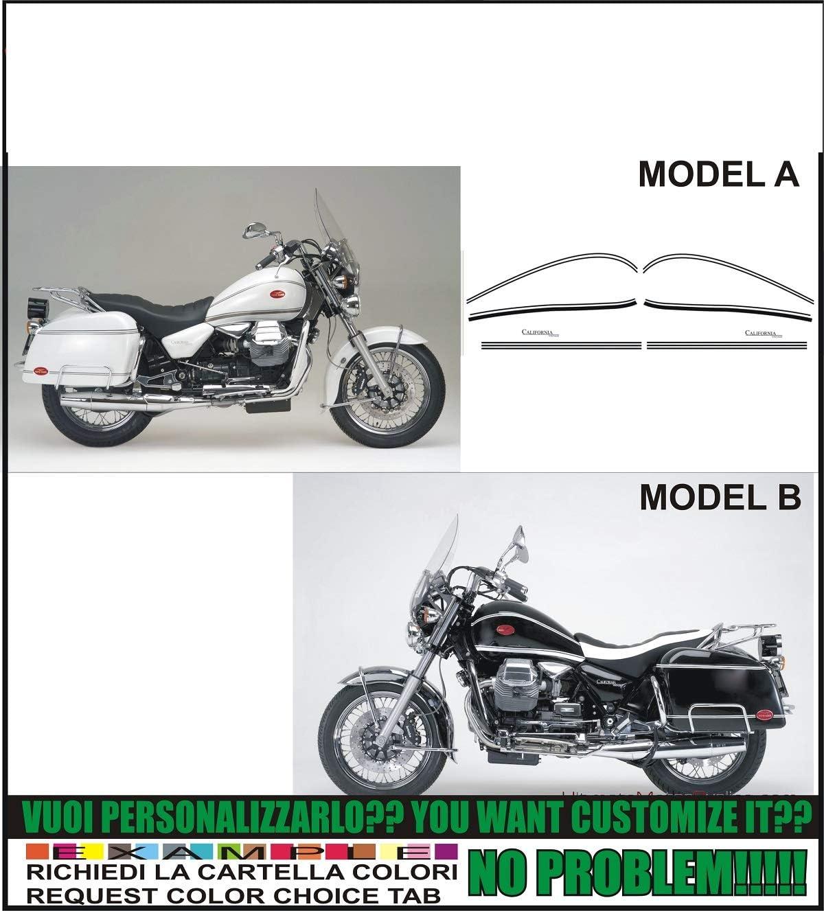 Kit adesivi decal stikers MOTO GUZZI CALIFORNIA 2 v1000 INDICARE IL MODELLO A o B
