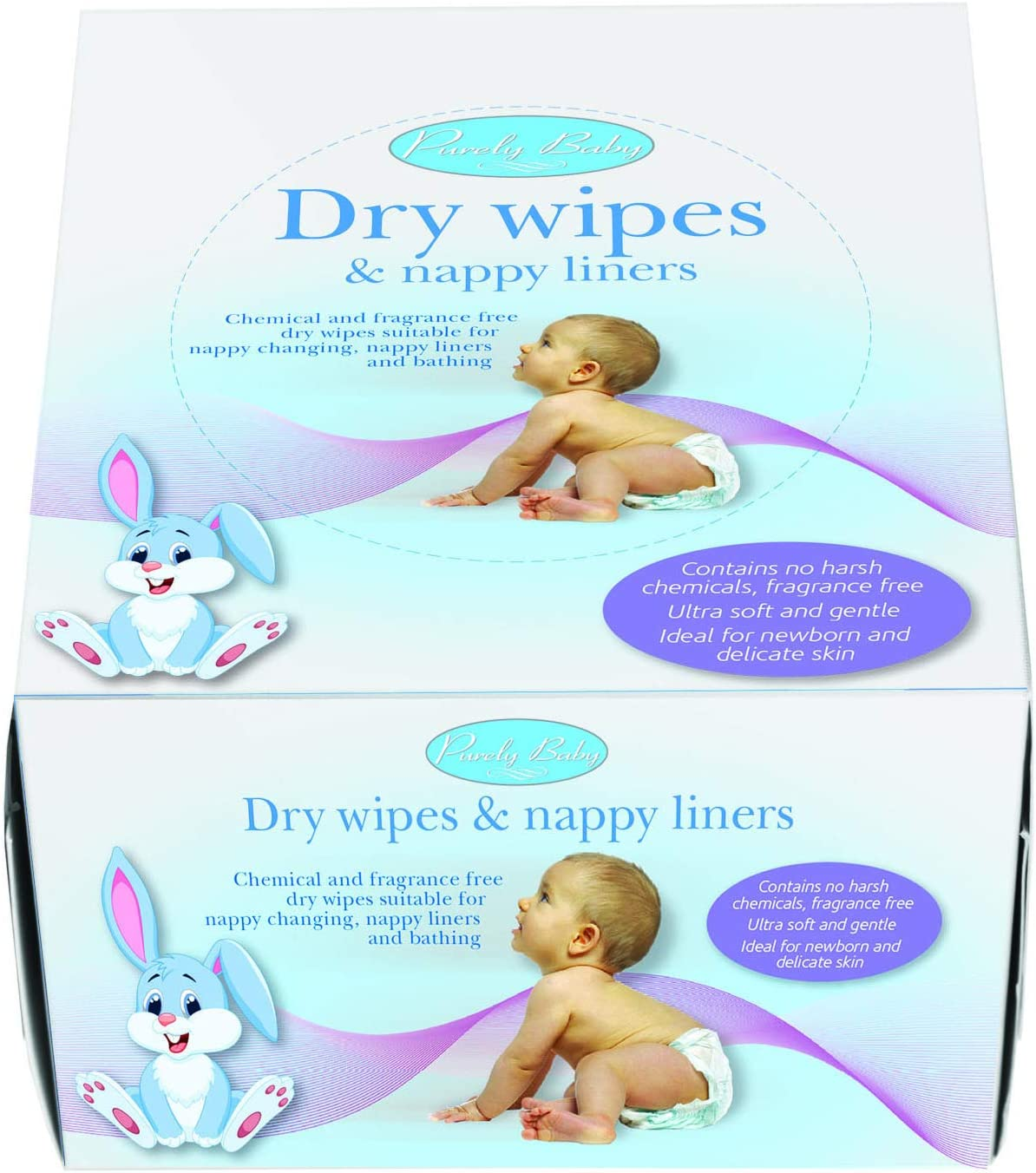 Purely Baby Dry Wipes and Nappy Liners