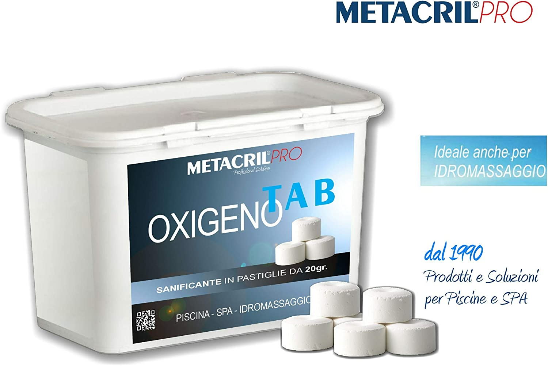 Oxigeno Tab 20 – sanificante a base de oxígeno activo (Pastillas ...