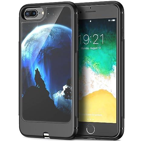NASKY iPhone 8 Plus Carcasa, iPhone 7 Plus Carcasa, Carcasa ...
