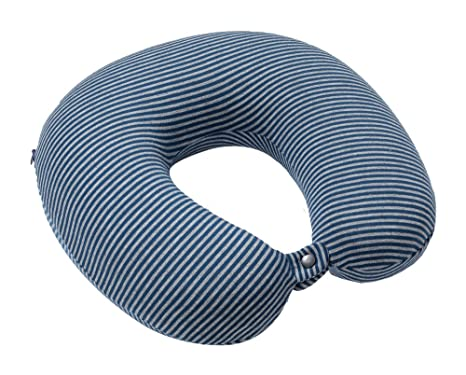 Memory Espuma Memory Foam Cuello Cervical – Almohada de viaje a la colocación y cabeza –