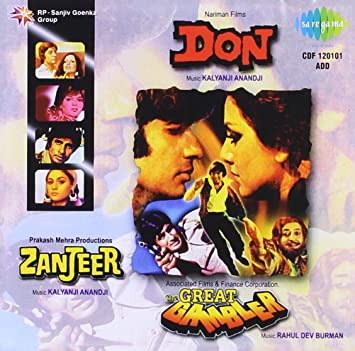 Rd Burman Kalyanji Anandji Don Zanjeer The Great Gambler