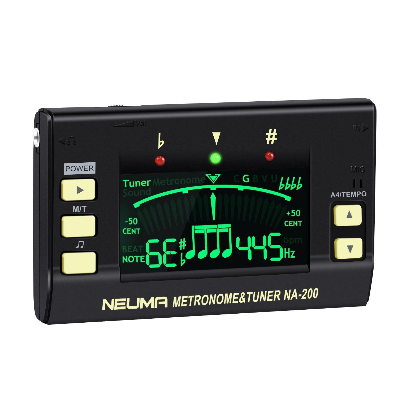 NEUMA Digitaler Metronom Tuner, Professioneller 3-in-1 Stimmgerät ...