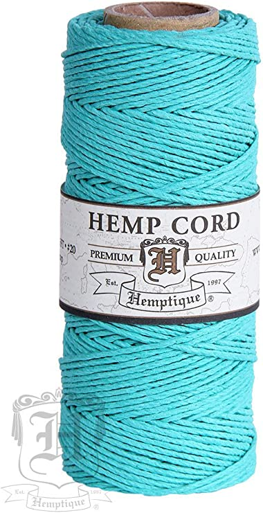 Jute Twine Cord Non-Polished 2mm 10 mix color 10 yards each color 100yds total