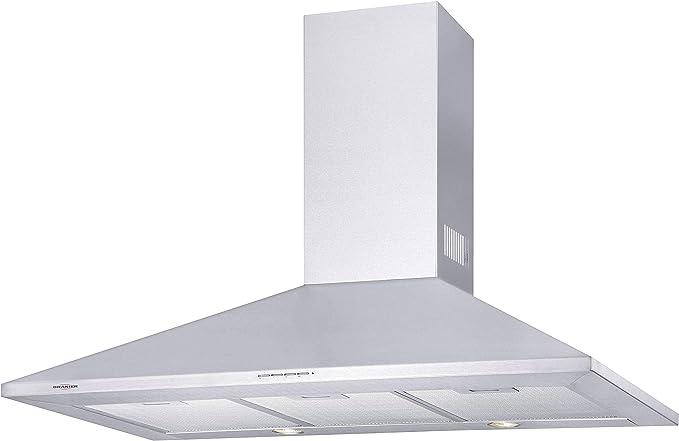 Oranier Farina 90 E 8747 91 - Campana extractora de pared (acero inoxidable, 90 cm de ancho): Amazon.es: Grandes electrodomésticos