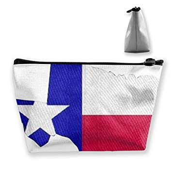 90c777f3585c Mit Texas Flagge Waterproof Makeup Shower Bag Zipper Organizer ...