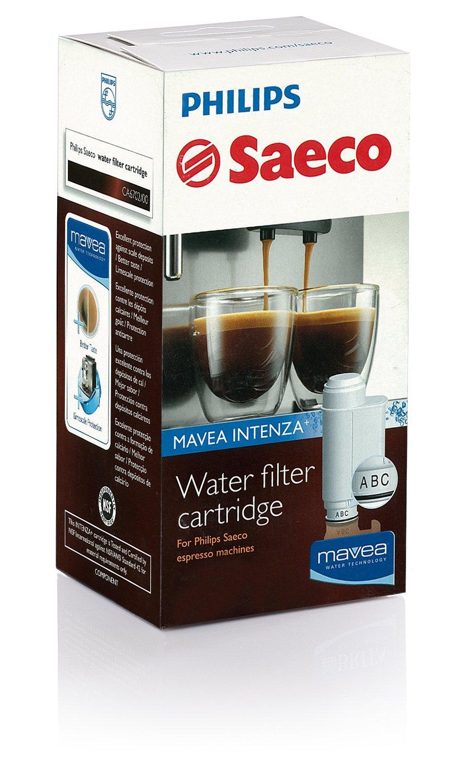 Saeco Water Filter Cartridge MAVEA Intenza CA6702/00 Philips